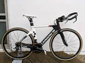 Argon 18 E-116 TT/Triathlon bike, SIZE XS, w/Powertap C1 Power Meter