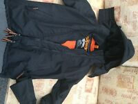 Fantastic Boys Black Superdry Jacket Size S- approx 12/13 years
