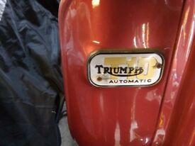 Triumph Tina T10 Scooter 100cc 1966