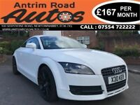 2008 AUDI TT 2.0 FSI ** 200 BHP ** RED LEATHER ** LOW MILES ** FINANCE AVAILABLE WITH NO DEPOSIT **