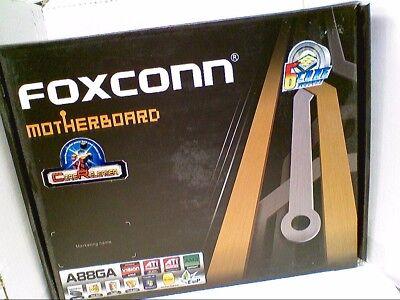 Foxconn A88GA AM3 AM3 HT 3.0 DDR3 8 Channel Audio GbE Raid USB 3.0 PCIe NEW