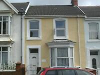 two bedroomed first floor flat.Bond required
