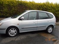 2002 Renault Scenic Fidji 1.4 16v 1/2 leather low mileage 12 months mot