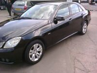 MERCEDES BENZ E CLASS 2.1 DIESEL MANUAL BLUE EFICIENCY . 60 REG.