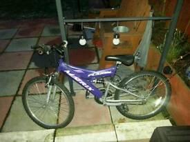 "24"" Matrix Fusion Mountain Bike for sale"