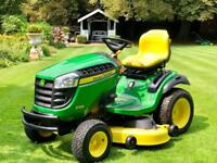 "John Deere X165 Ride On Mower - 48"" Deck - Mulch kit - Lawnmower - countax/ Kubota/Stiga"