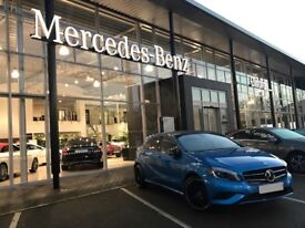 Mercedes A Class Sport with Night Package