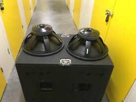 B&C 18TBX100-8 1200/2400 Watts! Driver / woofer