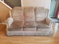 Free 3 seater, 2 seater, and chair.