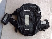 Used Kriega R25 Backpack With Extra Harness Pocket fitted