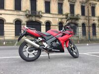 CBR125 Motorbike - Great for a daily economical run around or a learner