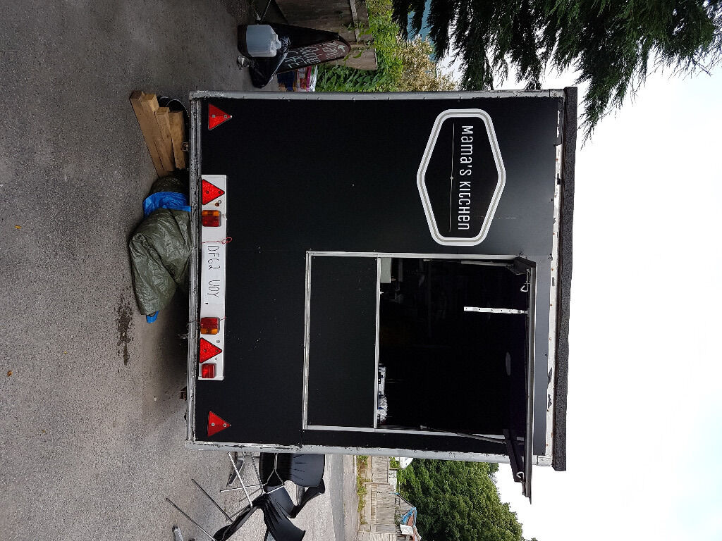 12 Ft Catering trailer - fully functioning