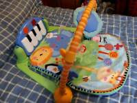 Fisher price activity playmat