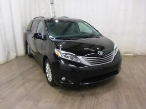 2015 Toyota Sienna XLE 7 Passenger AWD Leather Power Doors Bl...