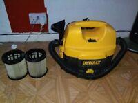 DEWALT Cordless Wet n Dry Vacuum 240v or 18v Battery