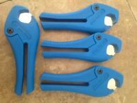 Pipe cutters new £4 each.