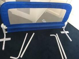 Summer Grow With Me Blue Double Bed Rail Guard Adjustable