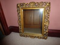 Antique Victorian Style Ornate Gilt Mirror