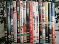 32 DVDs 2 Blu Rays Joblot Car boot cheap movies
