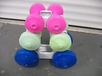 Dumbbell Tree Set
