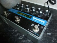 Eventide Time Factor pedal. £250 w/power supply.