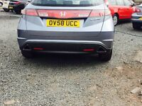 STUNNING HONDA CIVIC ///DIESEL///1YEAR MOT//3 MONTHS WARRENTY
