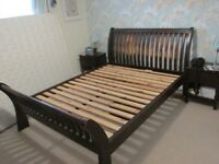 Kingsize Wooden Bed Frame
