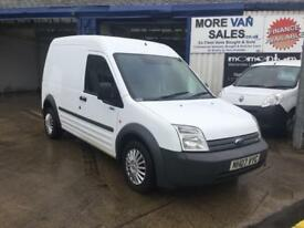 2007 ford transit connect lwb hi roof 1.8 tdci 12m mot px welcome & delivery available
