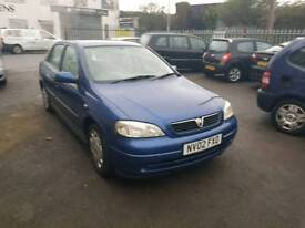 AUTOMATIC. VAUXHALL ASTRA. 1.6 PETROL. PX TO CLEAR