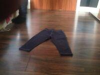 girls blue bottoms