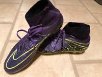 Nike hypervenom size 8.5 uk artificial grass