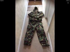 Men's camo medical / camping suit