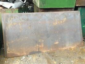 Checker Plate steel sheets