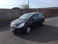2009 VAUXHALL CORSA,LONG MOT,LOW MILES,£1595