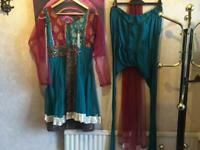 Ladies Indian suit 3 pieces used £7