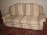 Two seater Sofa & Two Chairs