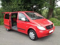 VITO111 CDI / LWB/CAMPER VAN /DAY VAN/HI SPEC/BRAND NEW KITCHEN&ROCK&ROLL BED/LIKE MAZDA BONGO T4 T5