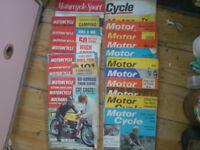 1960's MOTORBIKE MAGAZINES