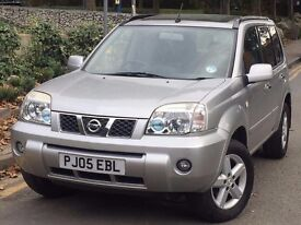 Nissan X-Trail 2.5 i SVE 5dr AUTOMATIC LEATHER+SAT NAV+SUNROOF
