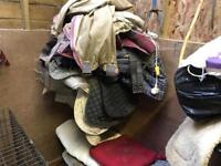 Job lot of horse rugs
