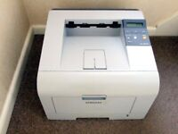 SAMSUNG MONO LASER PRINTER WITH NEW GENUINE SAMSUNG £70+ TONER CARTRIDGE