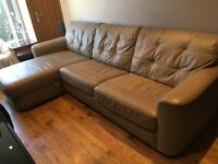3 Seater Leather Sofa Bed For Sale