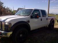 2008 for XLT f350 diesel crew cab mint 21500 obo