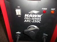 hawk 250 pro welder