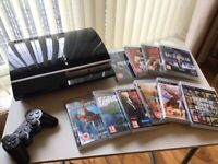 Playstation 3 Console plus 10 games - £70 ono (good condition)