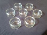 Glass ramekin dishes - excellent condition - 50p each