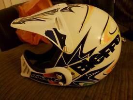Bieffe racing helmet MX300 RETRO