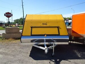 2017 Mission Trailers 12ft Enclosed ATV/Sled Trailer