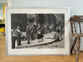 Large Framed Print - An American Girl in Italy (90x118cm)