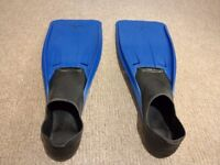 Flippers size 8 - 10